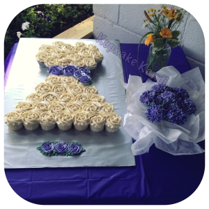 Pull Apart Wedding Dress & Bouquet