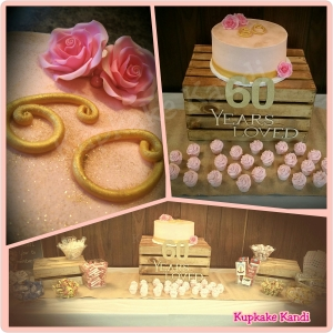 Pink & Gold 60th